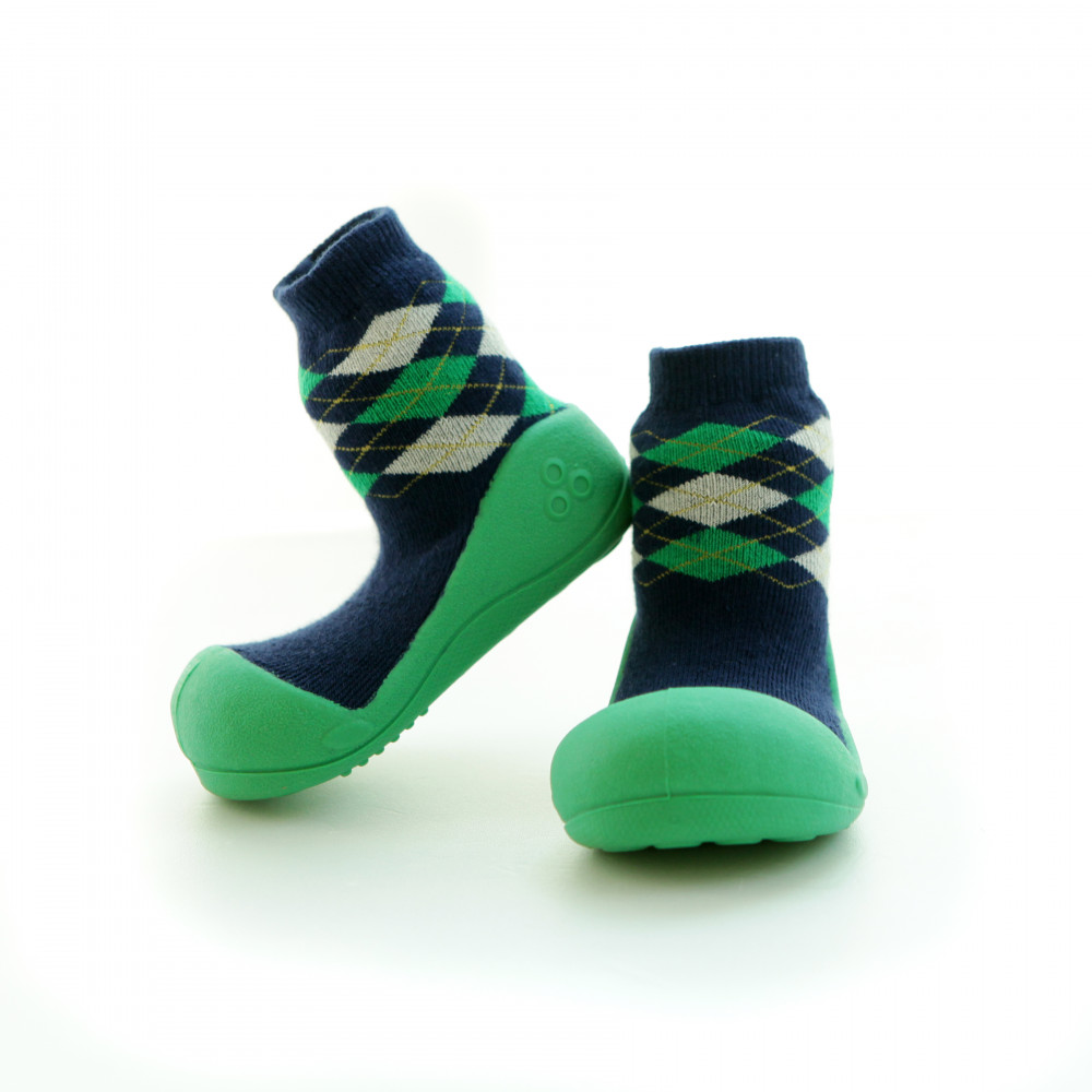Enfance Vert Argyle, Taille 21.5