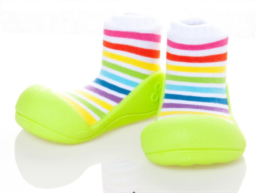 Chaussures Enfants Arc-en-blanc, Taille 25.5