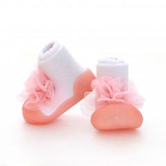 Babyschoenen.NewCorsage.Roze.02