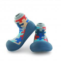 Babyschoenen.Puzzle.Blauw.01