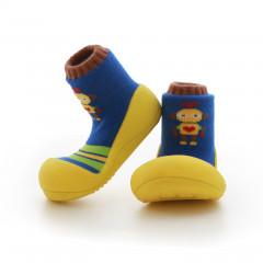 Kinderschoenen.Robot.Geel.02