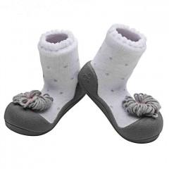 babyschoenen Ribon grijs