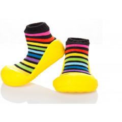 Babyschoenen.Rainbow.Geel.02