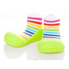 Kinderschoenen.Raunbow.Groen.02