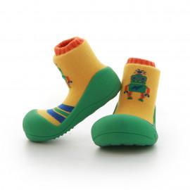 Babyschoenen.Robot.Groen.02